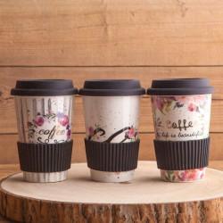 KOSZ prezentowy świąteczny Z PODPISEM Kawa i kubek porcelanowy MEGA DUŻY