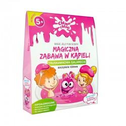 MAGICZNA zabawa w kąpieli Galarecia Różowa