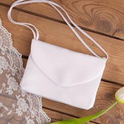 TOREBKA komunijna Elegancka biała (T10)