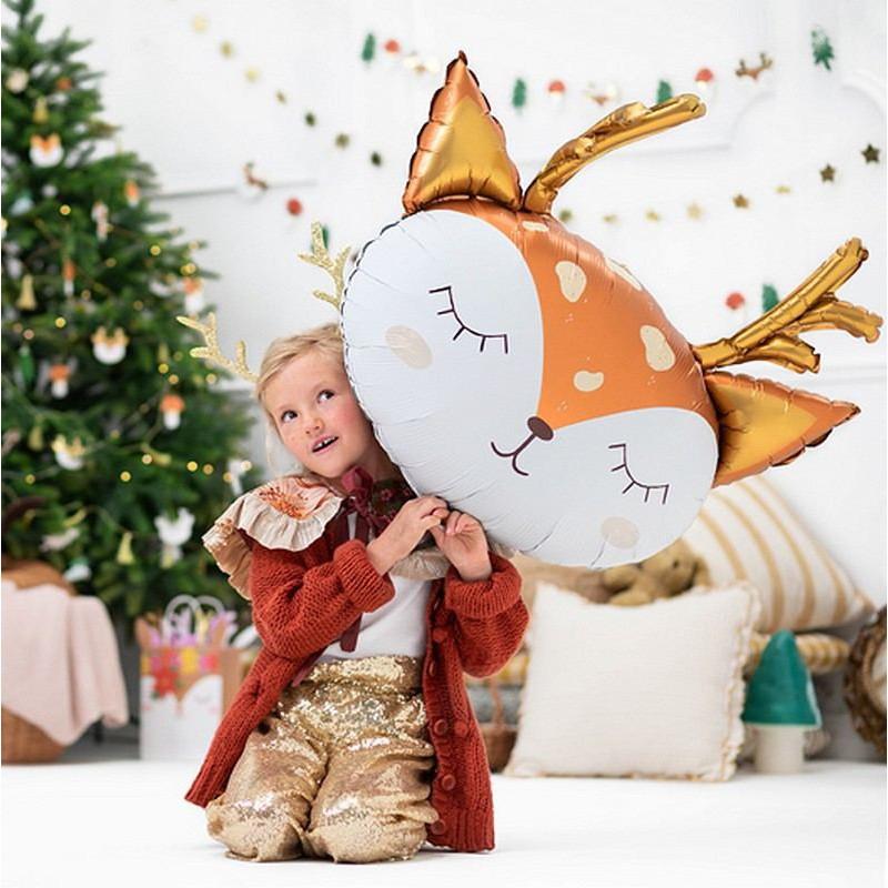 Balon świąteczny w kształcie jelonka