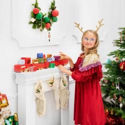 SKARPETA dekoracyjna świąteczna Na Prezenty