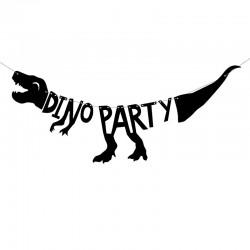 BANER urodzinowy dinozaury DinoParty 20 x 90cm