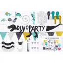 ZESTAW dekoracji na urodziny DinoParty 39 ELEMENTÓW