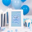 DEKORACJA stołu na Roczek i Urodziny Tabliczka Mały Pilot (+ramka)
