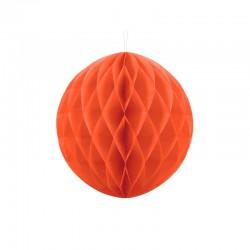 KULA bibułowa plaster miodu POMARAŃCZOWA 30cm