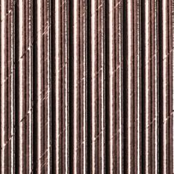 SŁOMKI papierowe metaliczne 10szt ROSEGOLD