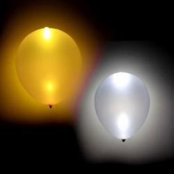 BALONY ledowe świecące ZŁOTE/SREBRNE MIX 4szt KONIEC SERII