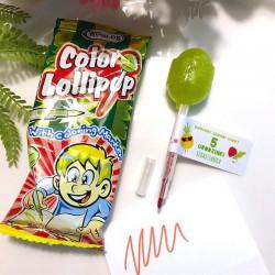 LIZAK z kolorowym markerem dla gości Urodziny (+etykieta)