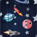 ZAWIESZKI dekoracyjne Kosmos MIX 5szt