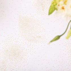 BIEŻNIK organza Złoty Pył 48cmx9m