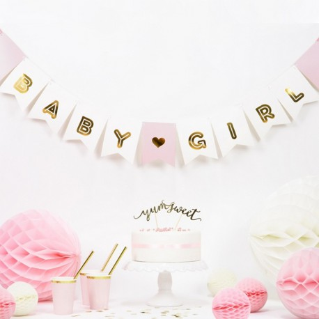 BANER Baby Girl mix 15 x 175 cm