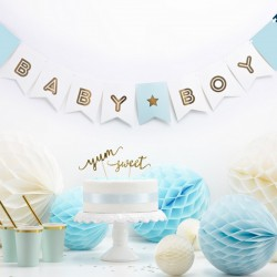 BANER girlanda Baby Boy mix 15 x 160 cm