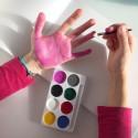 FARBKI do malowania rączek do odcisków do ksiąg BEZPIECZNE 8 KOLORÓW