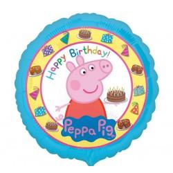 BALON foliowy Świnka Peppa 45cm