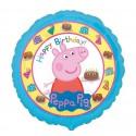 BALON foliowy Świnka Peppa 45cm KONIEC SERII