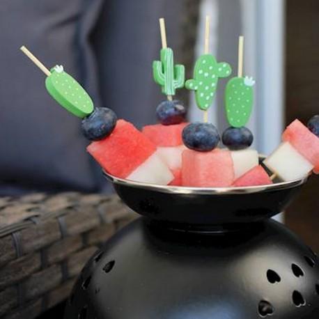 PATYCZKI do owoców i koreczków Hawajskie Party 15szt
