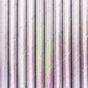 SŁOMKI papierowe metaliczne 10szt HOLO