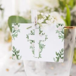 BILECIKI podziękowanie dla gości Delikatne Kwiaty 10szt