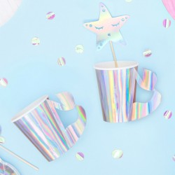 KUBECZKI papierowe Syrenka Magical Mermaid 6szt KONIEC SERII