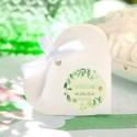 PUDEŁECZKA serca na Roczek Leśne Zwierzątka (+etykiety z imieniem+białe wstążki) 10szt