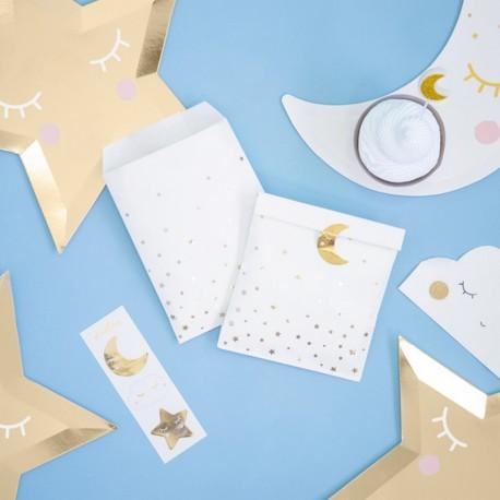 TOREBKI papierowe na słodycze Little Star 6szt