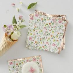SERWETKI papierowe Kolorowe Kwiaty