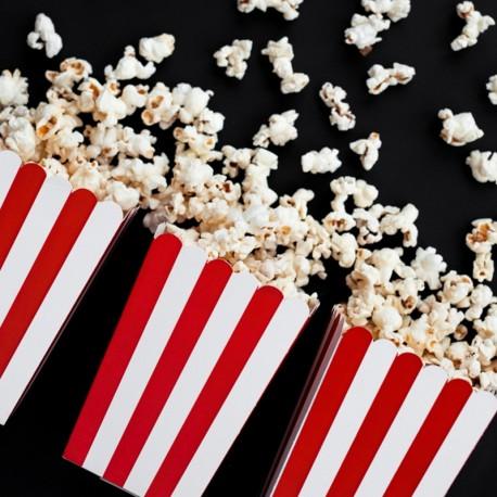 PUDEŁKA na popcorn i słodycze Piraci 6szt