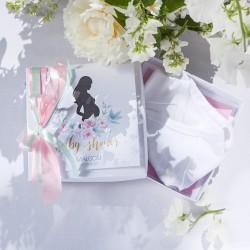 PREZENT dla Przyszłej Mamy DZIECIĘCE BODY Zapach Piwonii Baby Shower W PUDEŁKU
