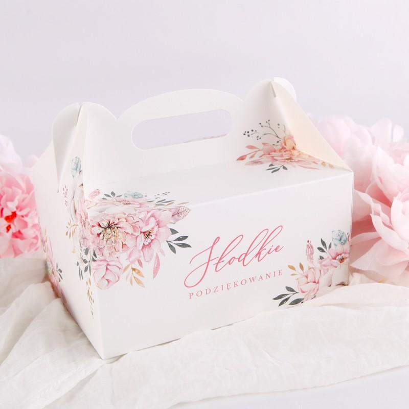 pudełko na ciasto dla dziewczynki
