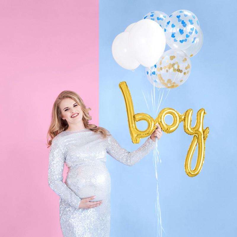 Balony na Baby Shower