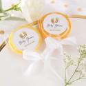 LIZAKI dla gości Złote Stópki Baby Shower (+etykiety) 10szt