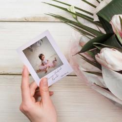 MAGNES ze zdjęciem dziecka na Roczek ala Instax