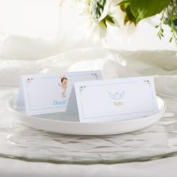 WINIETKA WIZYTÓWKA personalizowana Niebieski Aniołek NEW