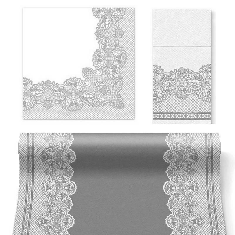 zestaw srebrnych dekoracji komunijnych