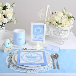 PUDEŁKA na ciasto z IMIENIEM Błękitny Wózek 10szt