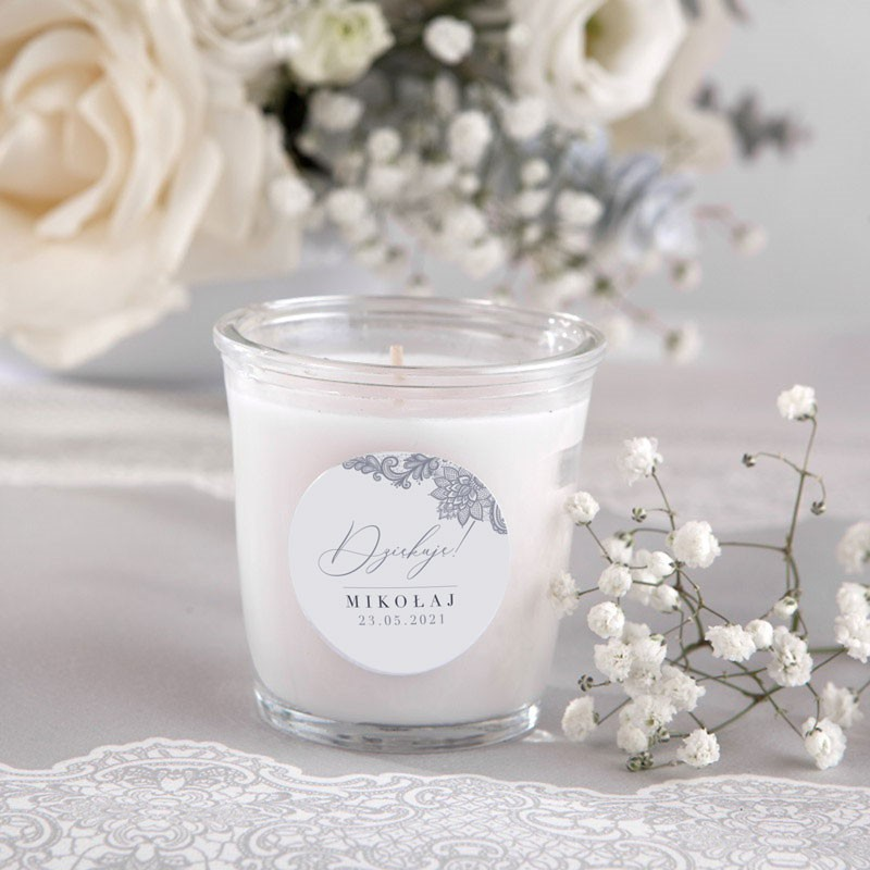 świeczki zapachowe na podziękowanie
