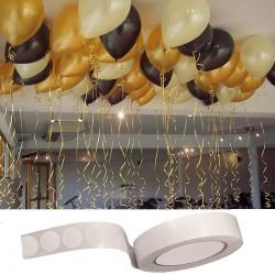 PRZYLEPCE do mocowania balonów 100szt EFEKT JAK Z HELEM