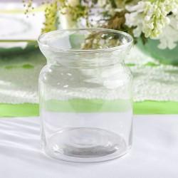 KIELICH szklany na świeczkę komunijną 11cm
