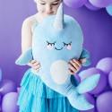 PREZENT dla dziecka poduszka maskotka syrenka 36x51cm