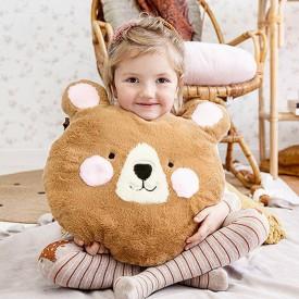 PREZENT dla dziecka poduszka miś 36x37cm