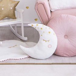 PREZENT dla dzieci poduszka księżyc 39x40cm