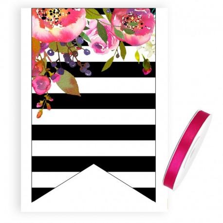 ŁĄCZNIK do baneru Flowers&Stripes (+ tasiemka)