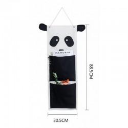 ORGANIZER wiszący do pokoju dziecka 30x88cm PANDA
