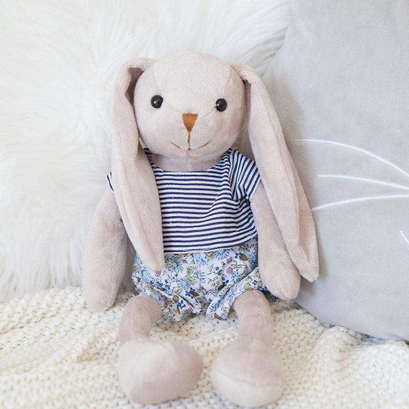 Śliczna maskotka króliczka na prezent wielkanocny