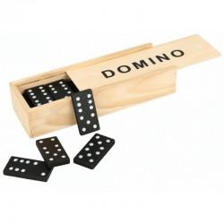 DOMINO drewniane gra dla dzieci 28 elementów