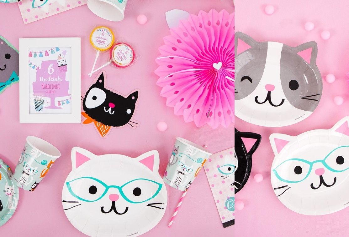 27a8b120906fa5 Najpiękniejsze dekoracje urodzinowe dla dziewczynki - kolekcja Wesołe Kotki