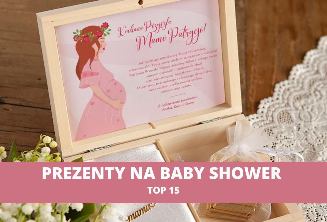 TOP 15 prezentów na Baby Shower. Co podarować przyszłej mamie?