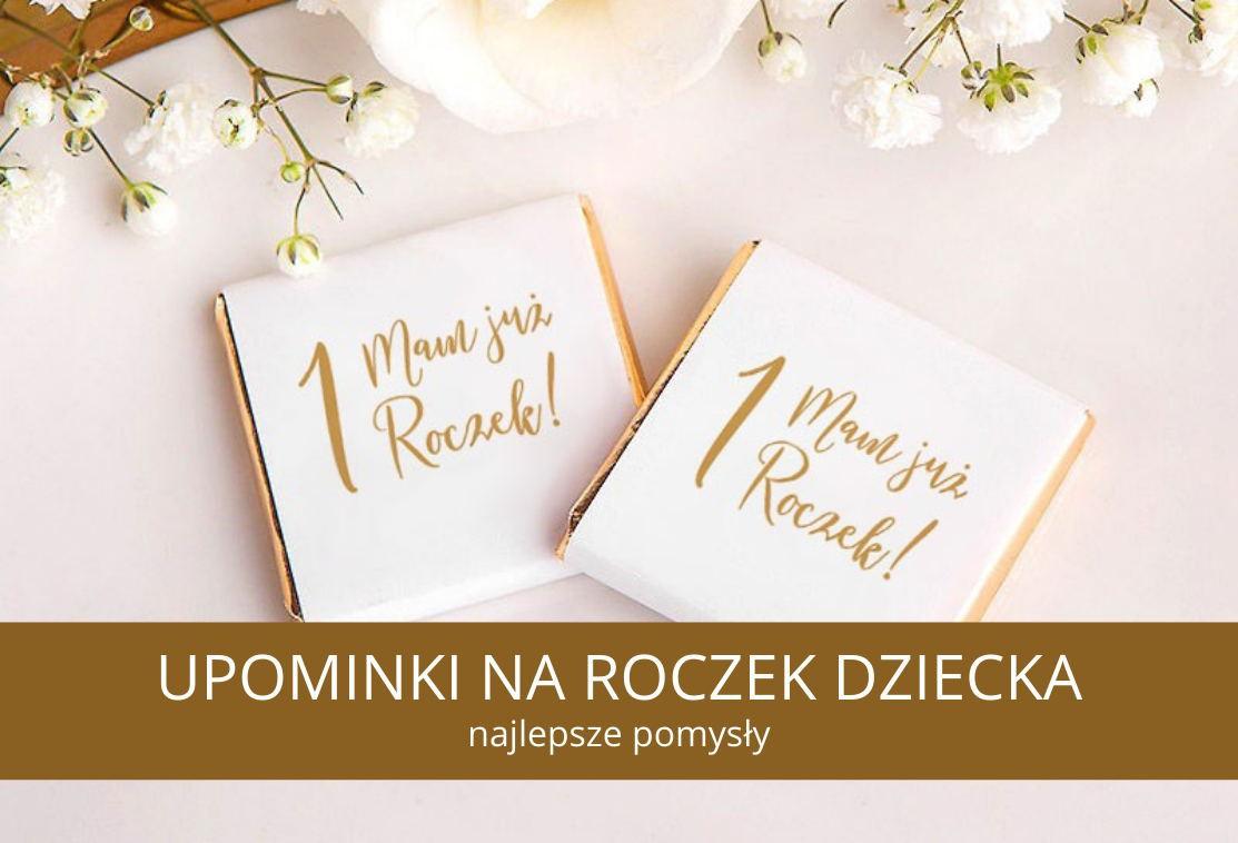 Upominki dla gości na Roczek - najpiękniejsze pomysły