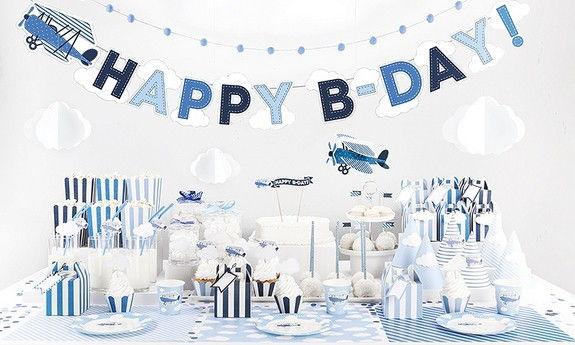 Urodzinki chłopca Samolot