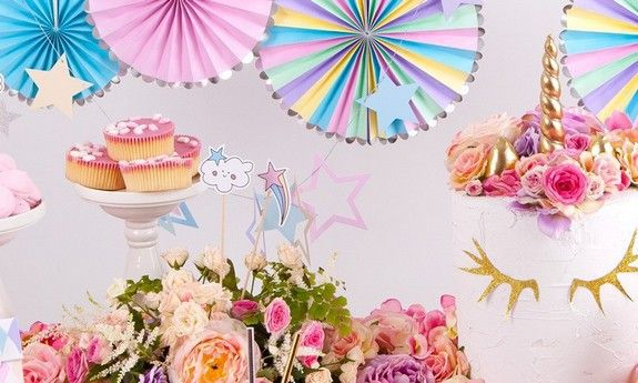 Urodziny dziewczynki Unicorn